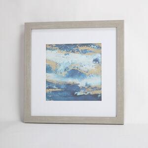 Stormy Seas Framed Print 55x55cm