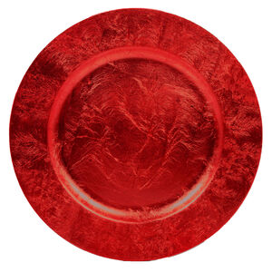 Luxe Charger Plate - Red