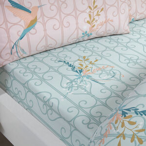 HUMMINGBIRD Single Fitted Sheet