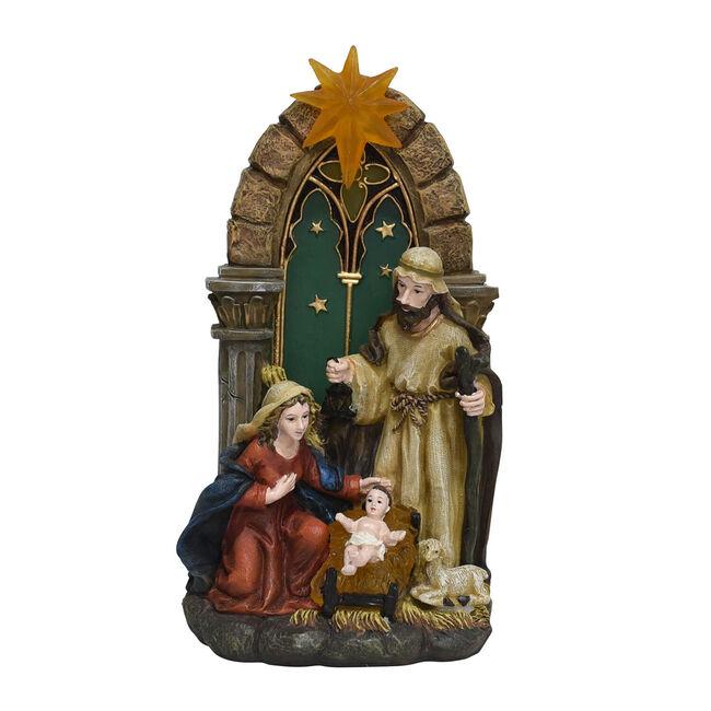 Light Up Christmas Star Nativity Scene