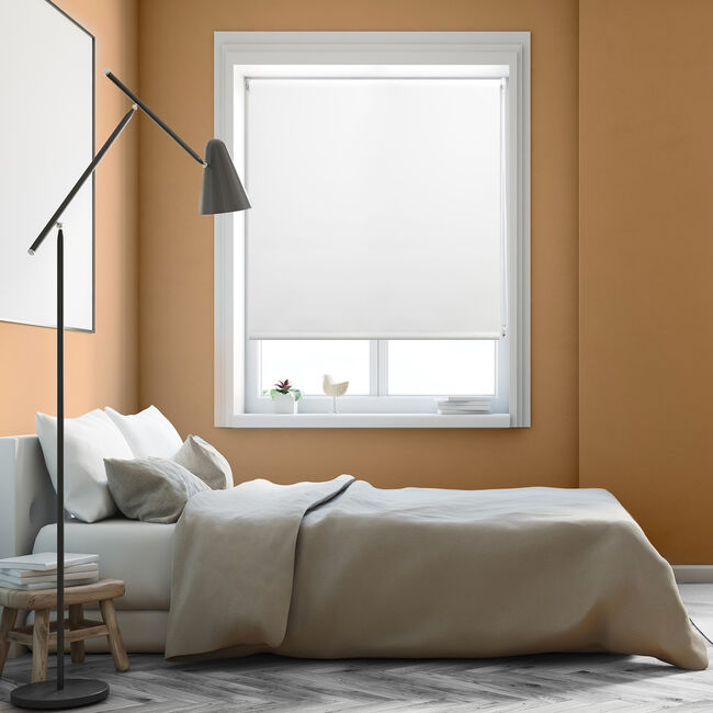 BAILEY & COLE 150x160cm Roller Blind White