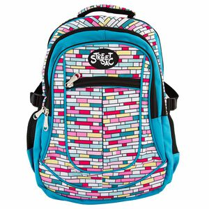 Streetsac Bricks Multi Schoolbag
