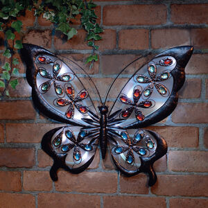 Solar Butterfly Hanging Wall Art