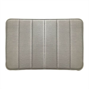 Memory Foam Bath Mat 40x60cm - Grey