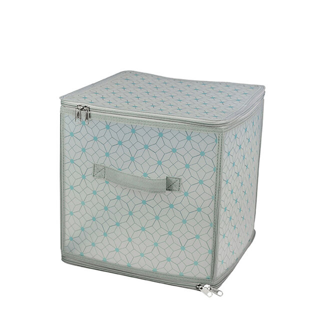 Clever Polka Clothes Cube Storage 30x30x30cm