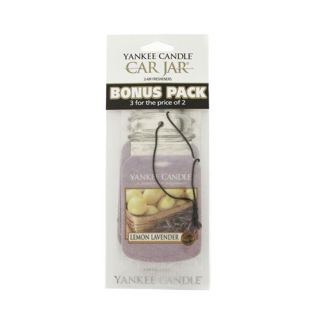 Yankee Candle Lemon Lavender Car Jars