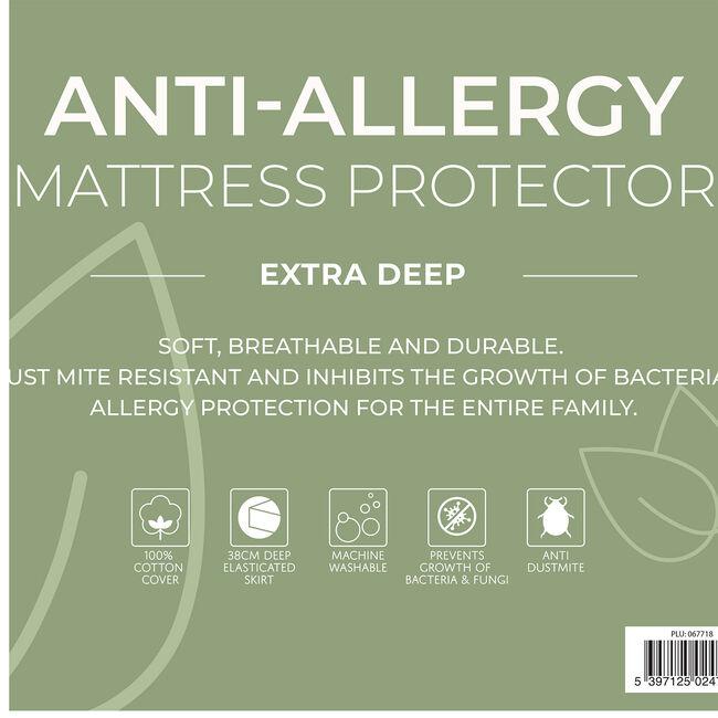ANTI ALLERGY KING Mattress Protector