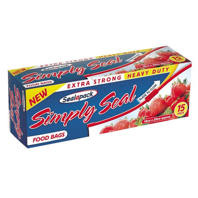 Sealapack 15 Simply Seal Food Bags