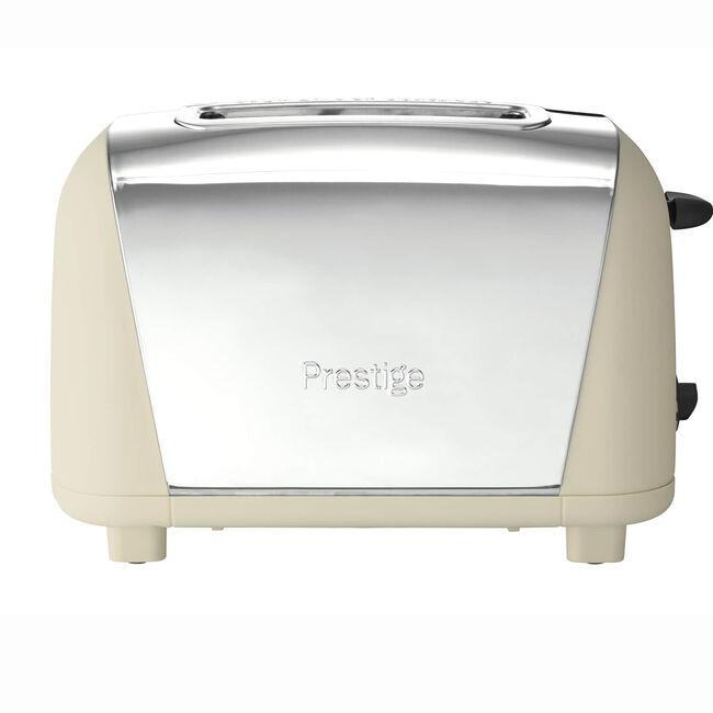 Prestige Stainless Steel 2 Slice Toaster Almond
