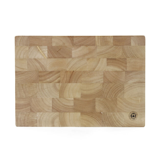 Rubberwood Endgrain Block