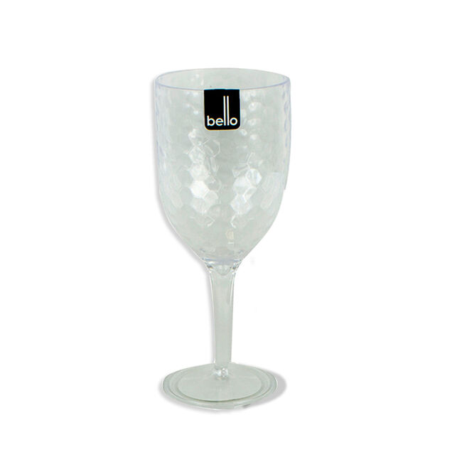 Dimple Wine Goblet - Clear