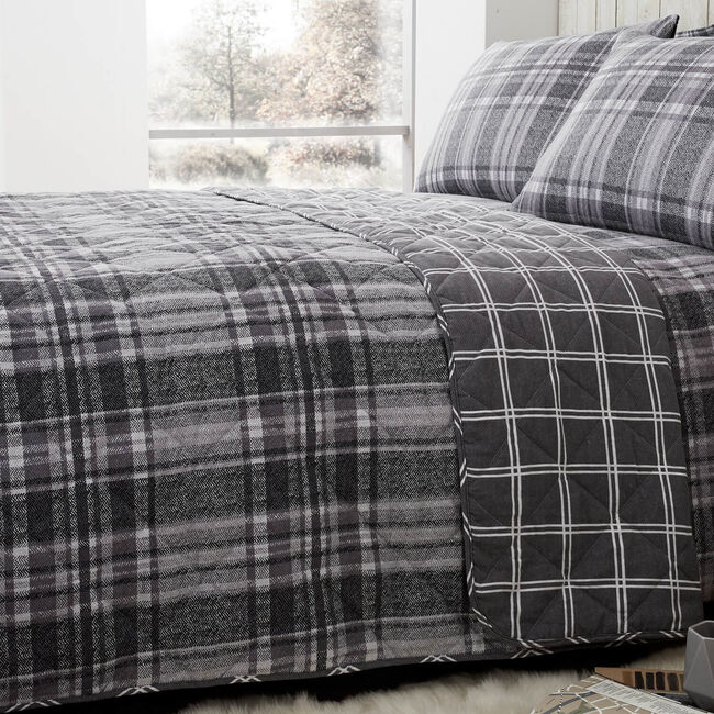 Brushed Cotton Boothman Check 200x220cm
