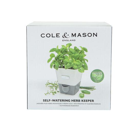 Cole & Mason Single Self Watering Herb Keeper