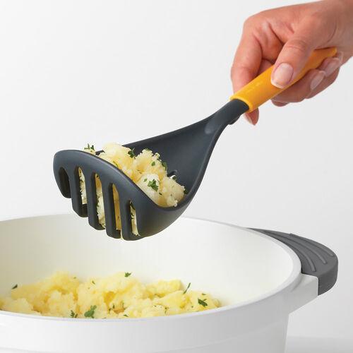 Brabantia Potato Masher plus Spoon - Yellow