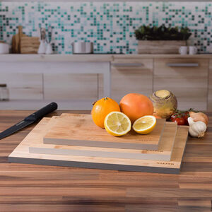 Salter 3 Chopping Board Set with Colour Rim