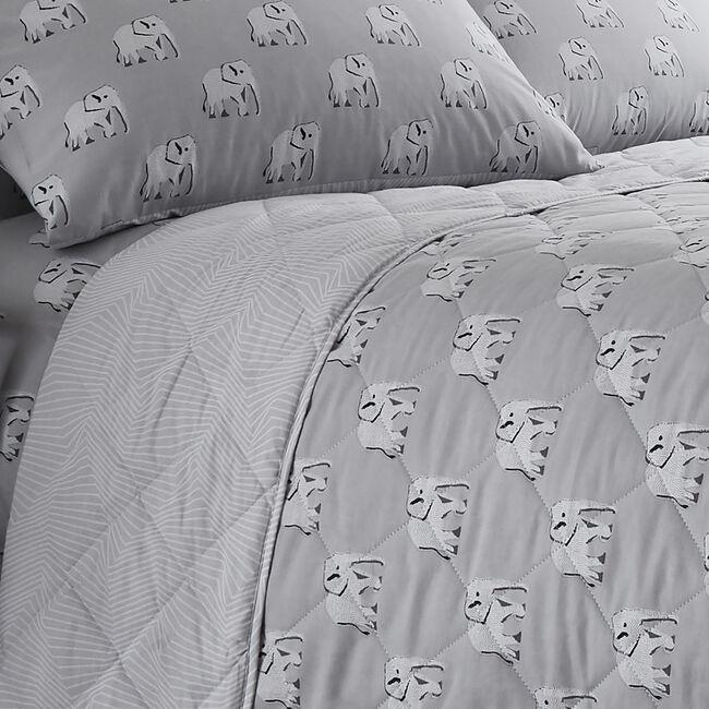 Nelly Bedspread 200x220cm - Grey