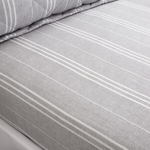 FOWLER STRIPE Single Fitted Sheet