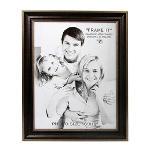 "Antique Bronze Slim Photo Frame 12x16"" (A3)"