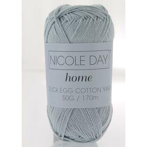 Nicole Day Duck Egg Cotton Yarn