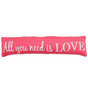 All You Need Is Love 22x90 Draught Excluder