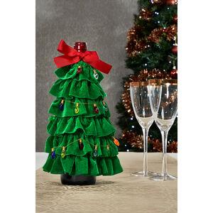 Christmas Tree Bottle Décor
