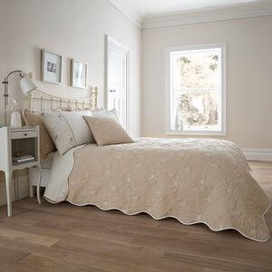 Matelassé Bedspread 220x230cm - Gold