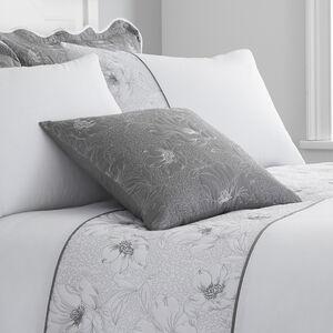 Matelassè Grey Cushion 45x45cm