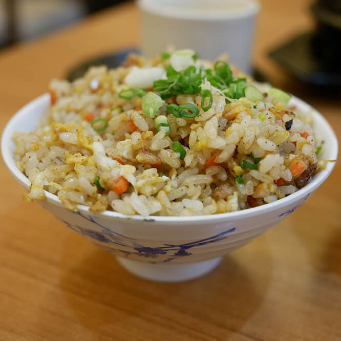 After School Snack: Egg Fried Rice