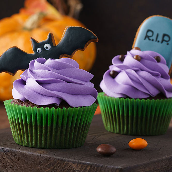 Creepy Cupcakes & Spooky Biscuits