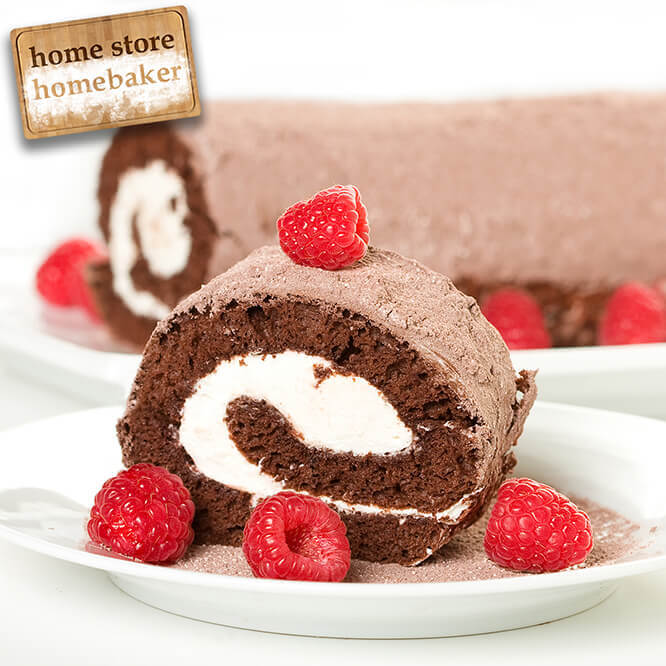 Easy Chocolate Roulade