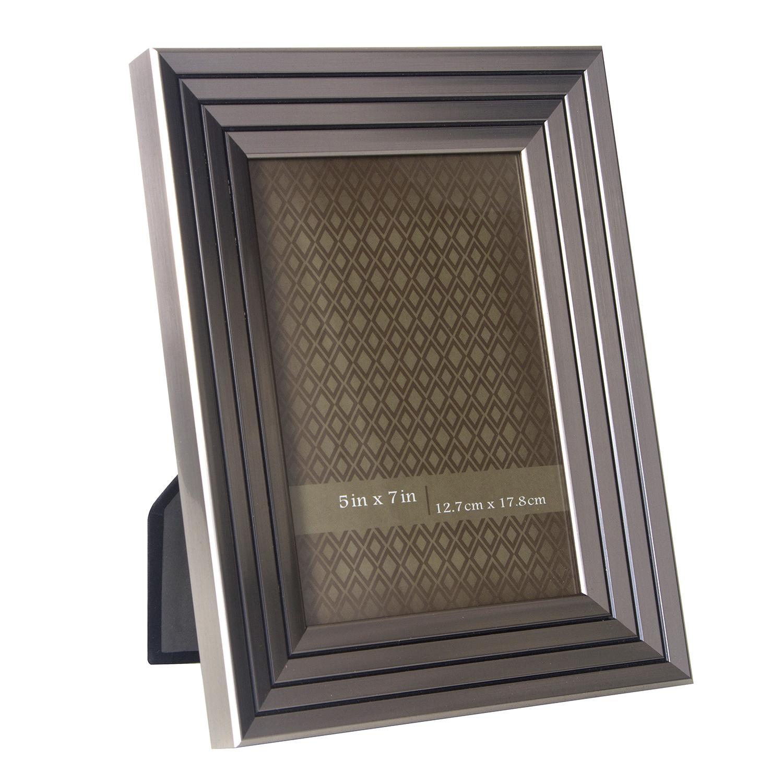 Quattro Strip Silver Photo Frame 5 X 7 Home Store More