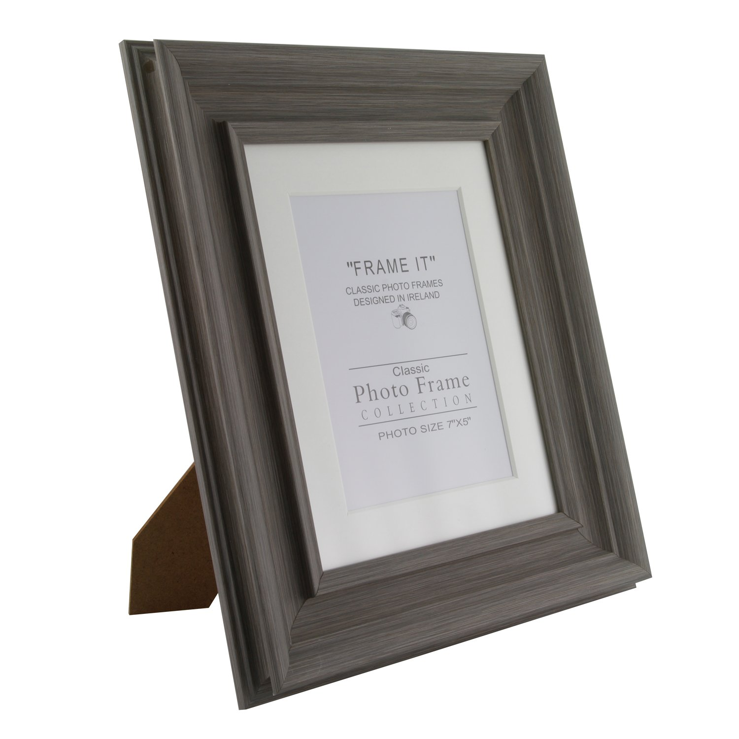 Slate Grey Photo Frame 5 X 7 Home Store More