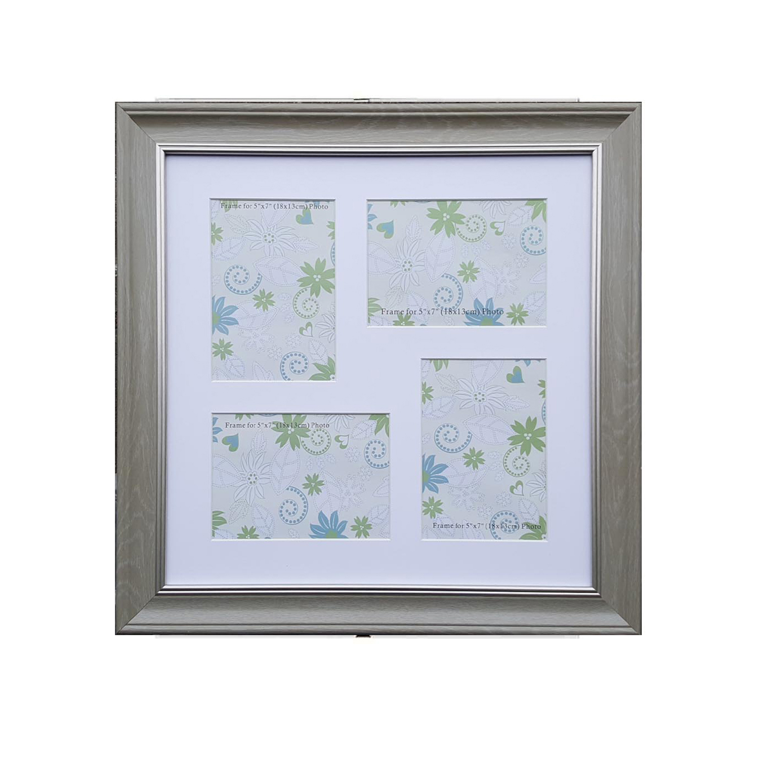 Beautiful Silver Collage Picture Frames Image - Picture Frame Ideas ...