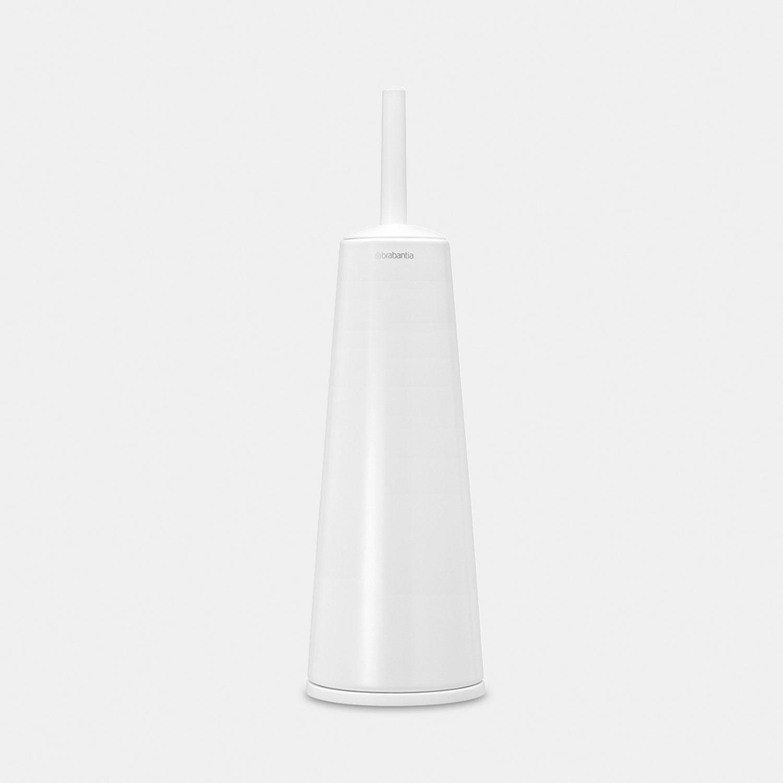 Brabantia Toilet Brush.Brabantia Toilet Brush Holder White 071514