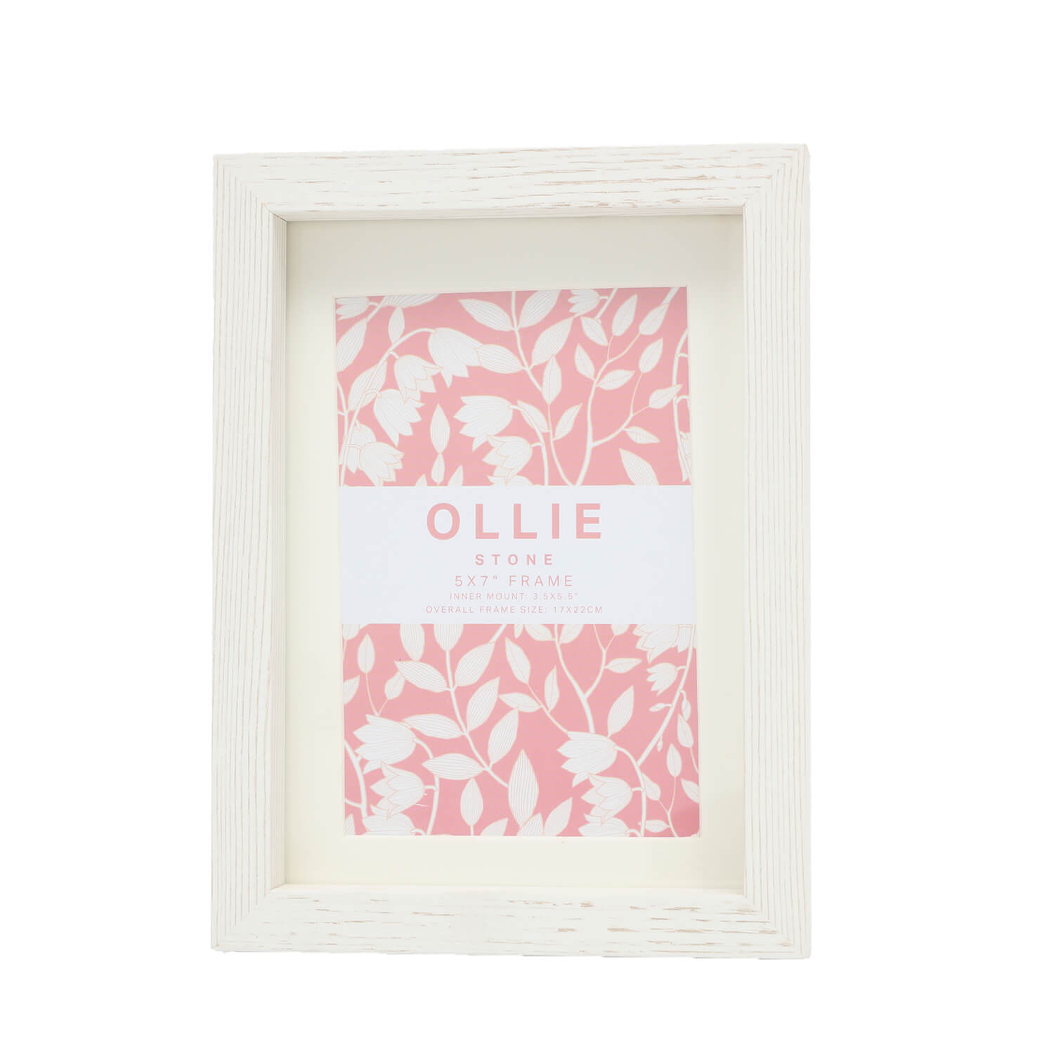 Ollie Photo Frame 5x7 Stone Home Store More