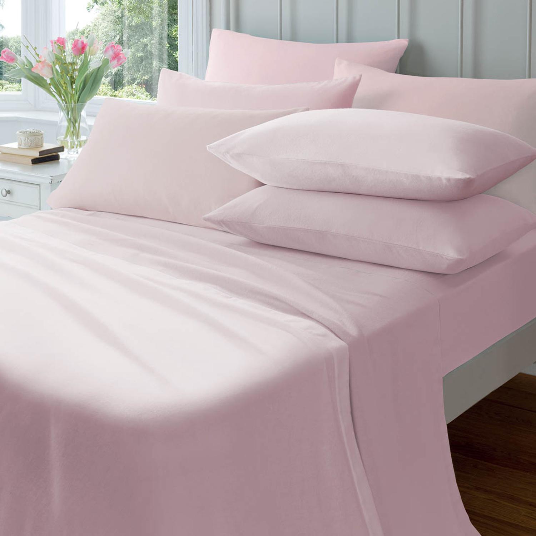 flannelette fitted sheet home store more. Black Bedroom Furniture Sets. Home Design Ideas