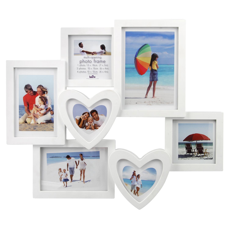 Maggiore White Photo Frame 7 Windows - Home Store + More