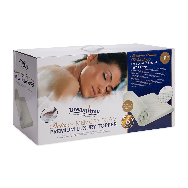 Premium Luxury Memory Foam Mattress Topper Home Store More