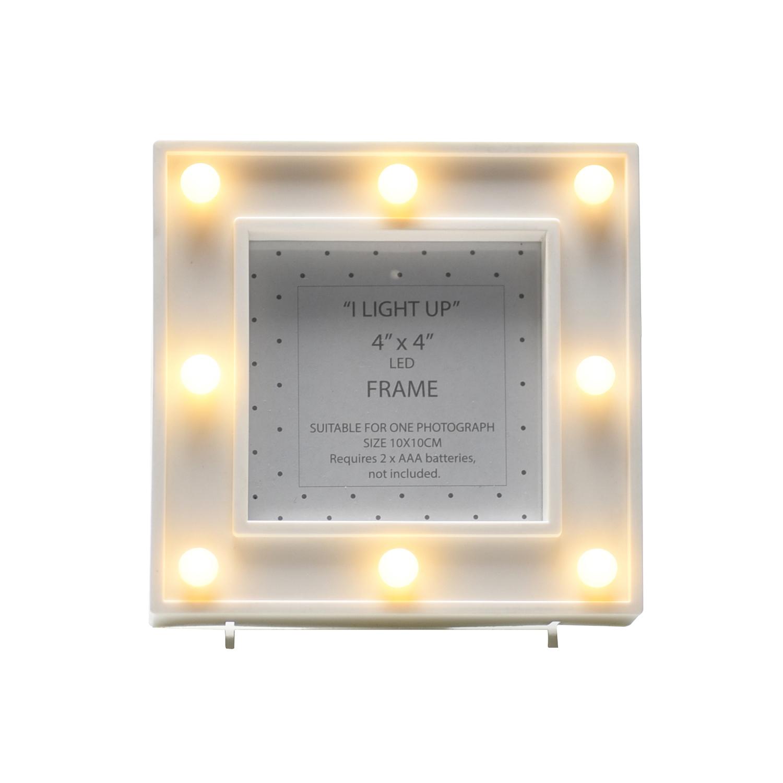 8 Led Light Up Photo Frame - Home Store + More