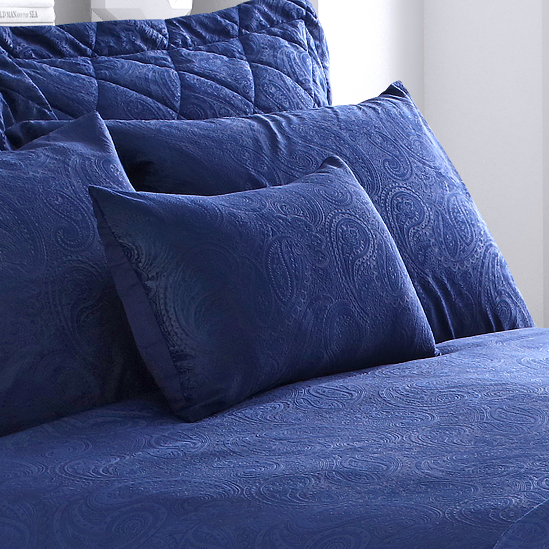 Allegra Cushion 30x50cm Navy Home Store More