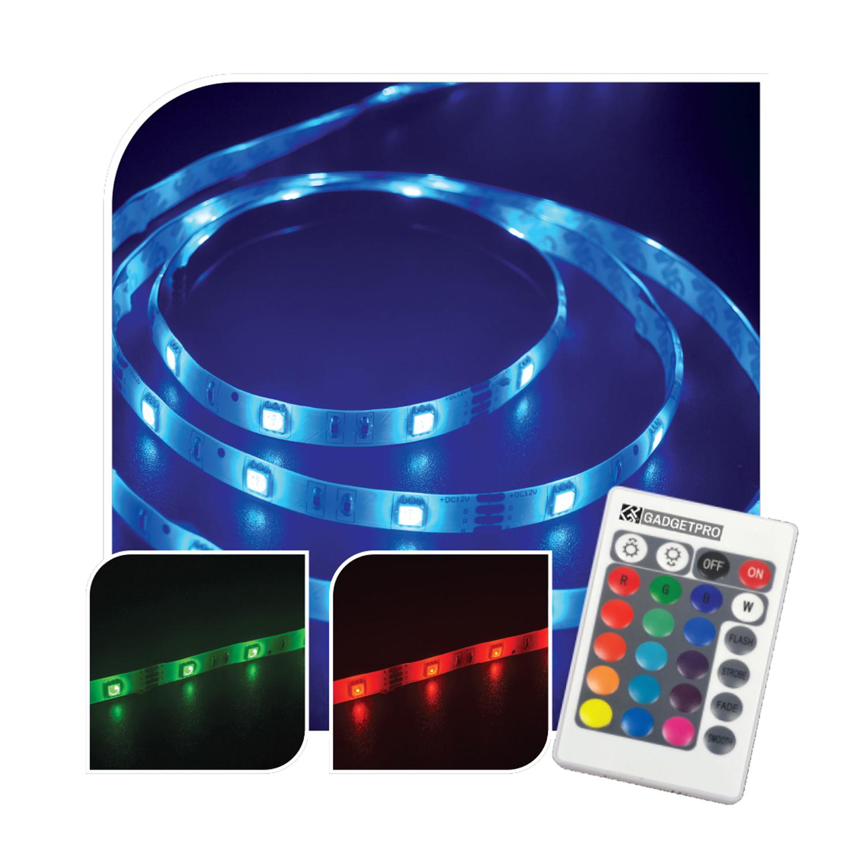 Colour Change Led Stripe Light Kit 2m Home Store More