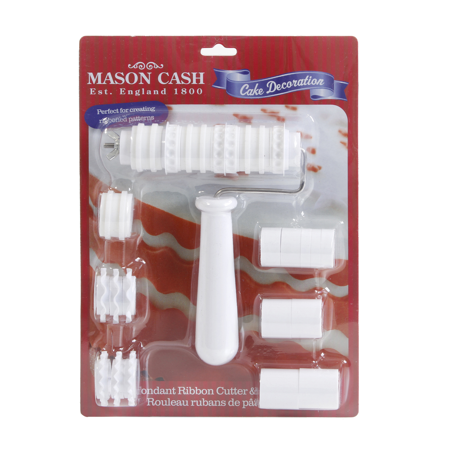 Mason Cash Fondant Cutter Wheel Set