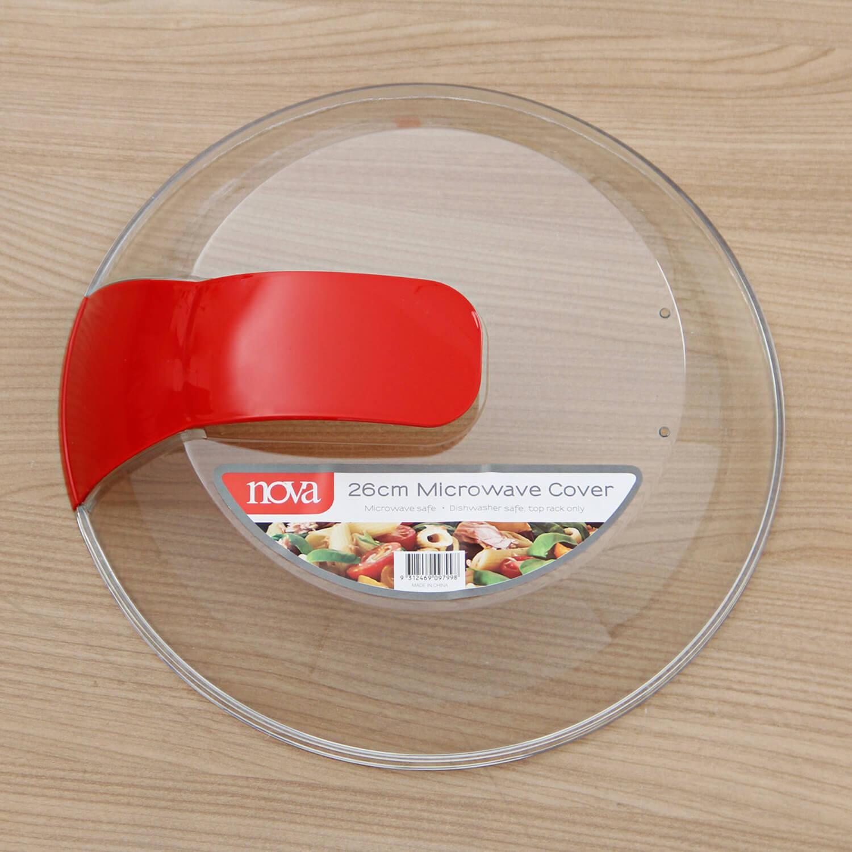 Nova Microwave Plate Cover 26cm Home