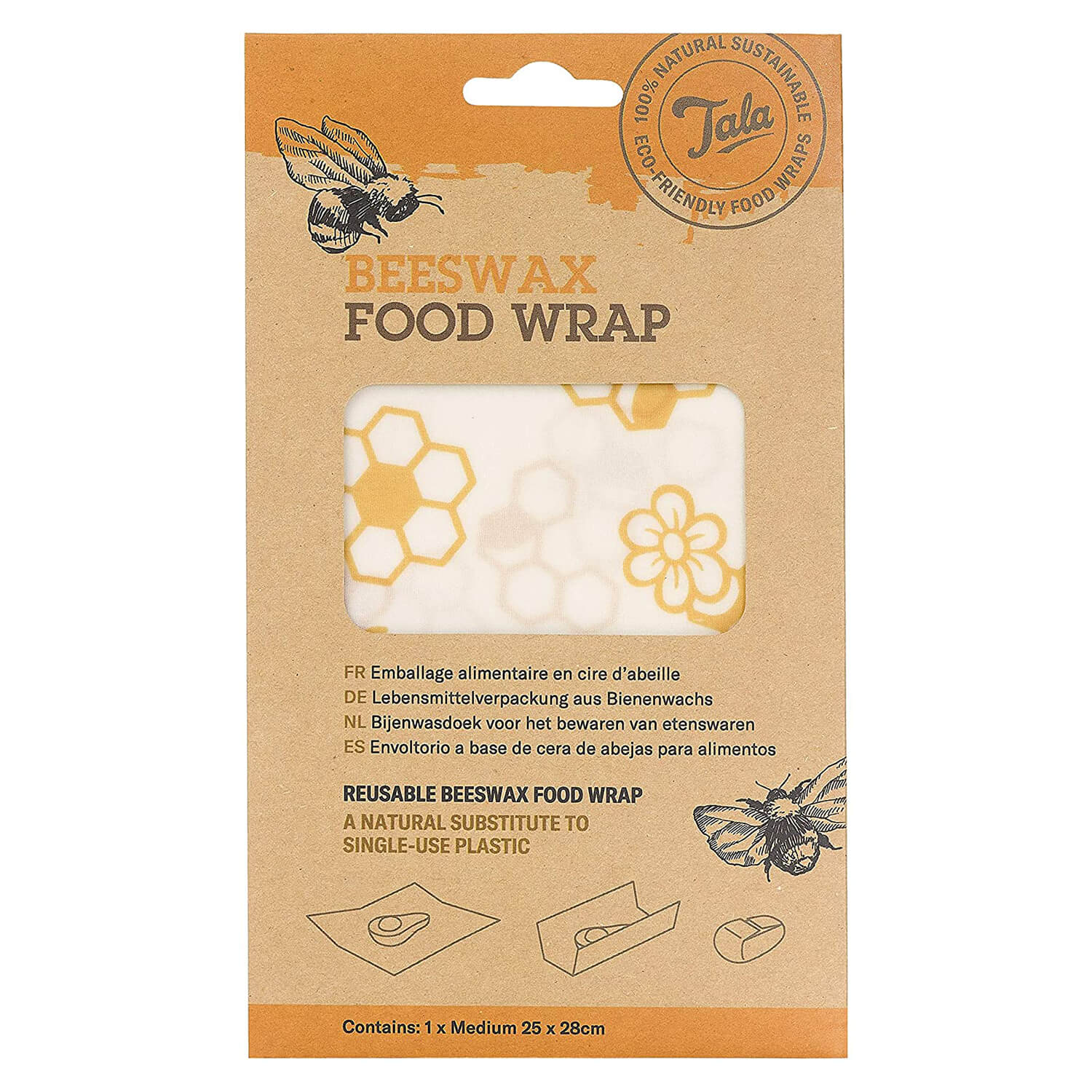 Tala Food Wax Wrap 23 x 28cm