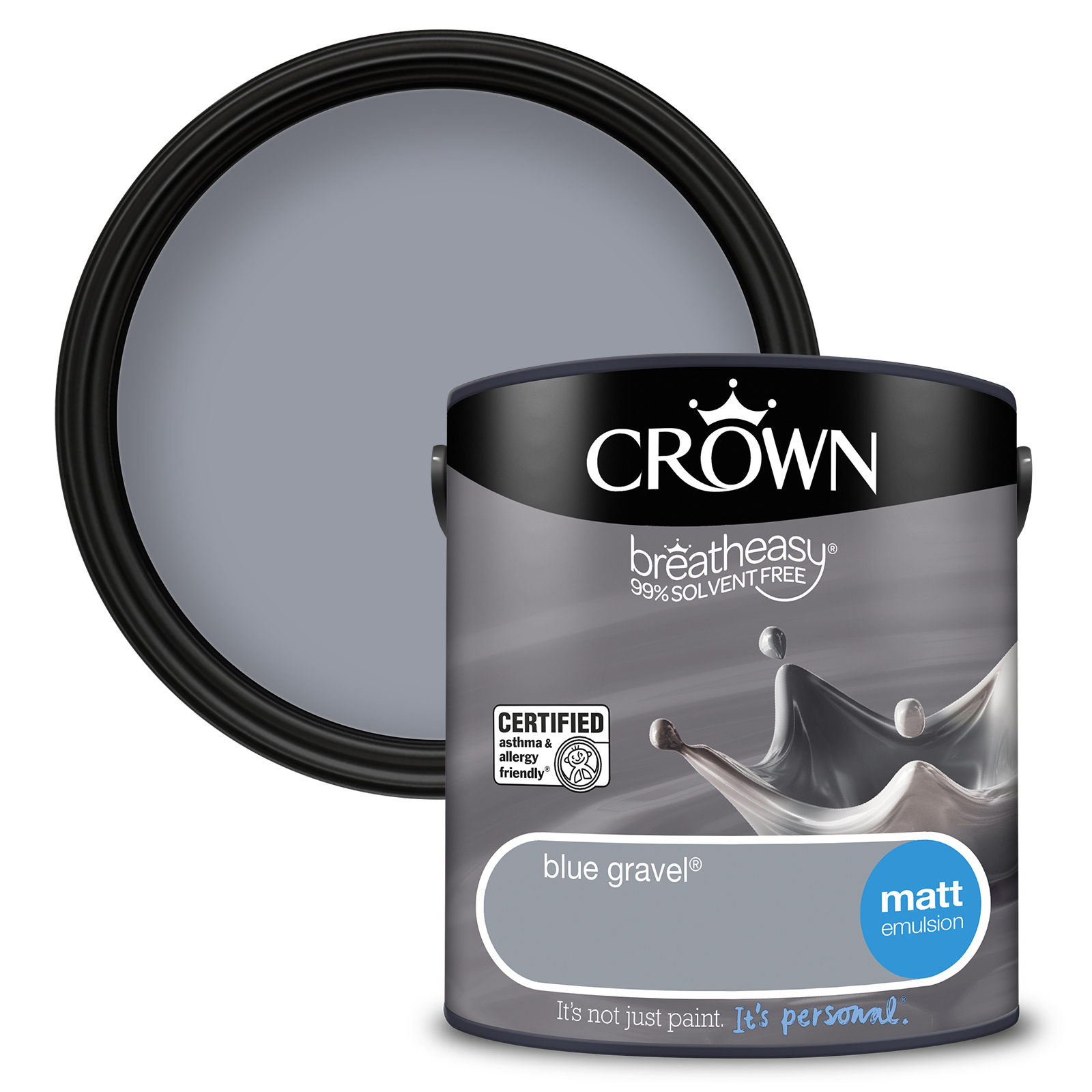 Crown Breatheasy Matt 2.5L - Blue Gravel
