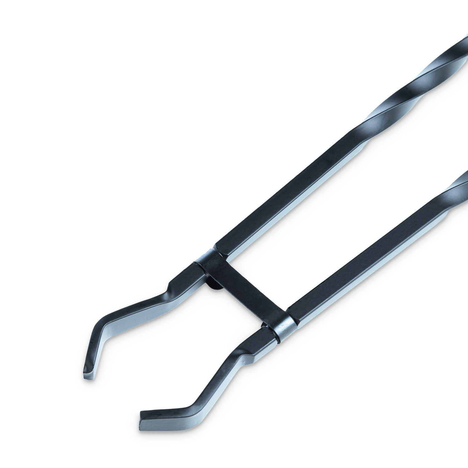 "Silverflame Tongs 24"" - Black"