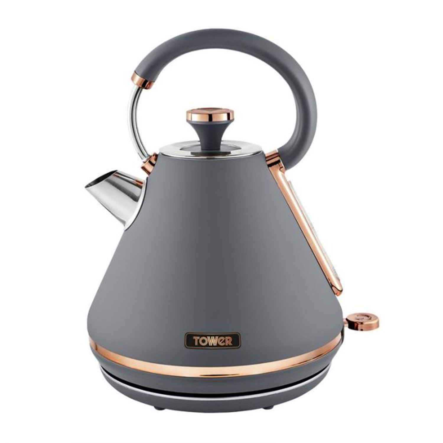 Tower Cavaletto Grey 1.7L 3KW Kettle