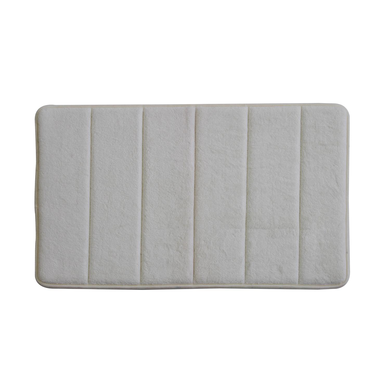 Memory Foam Bath Mat Cream 40cm X 60cm Home Store More