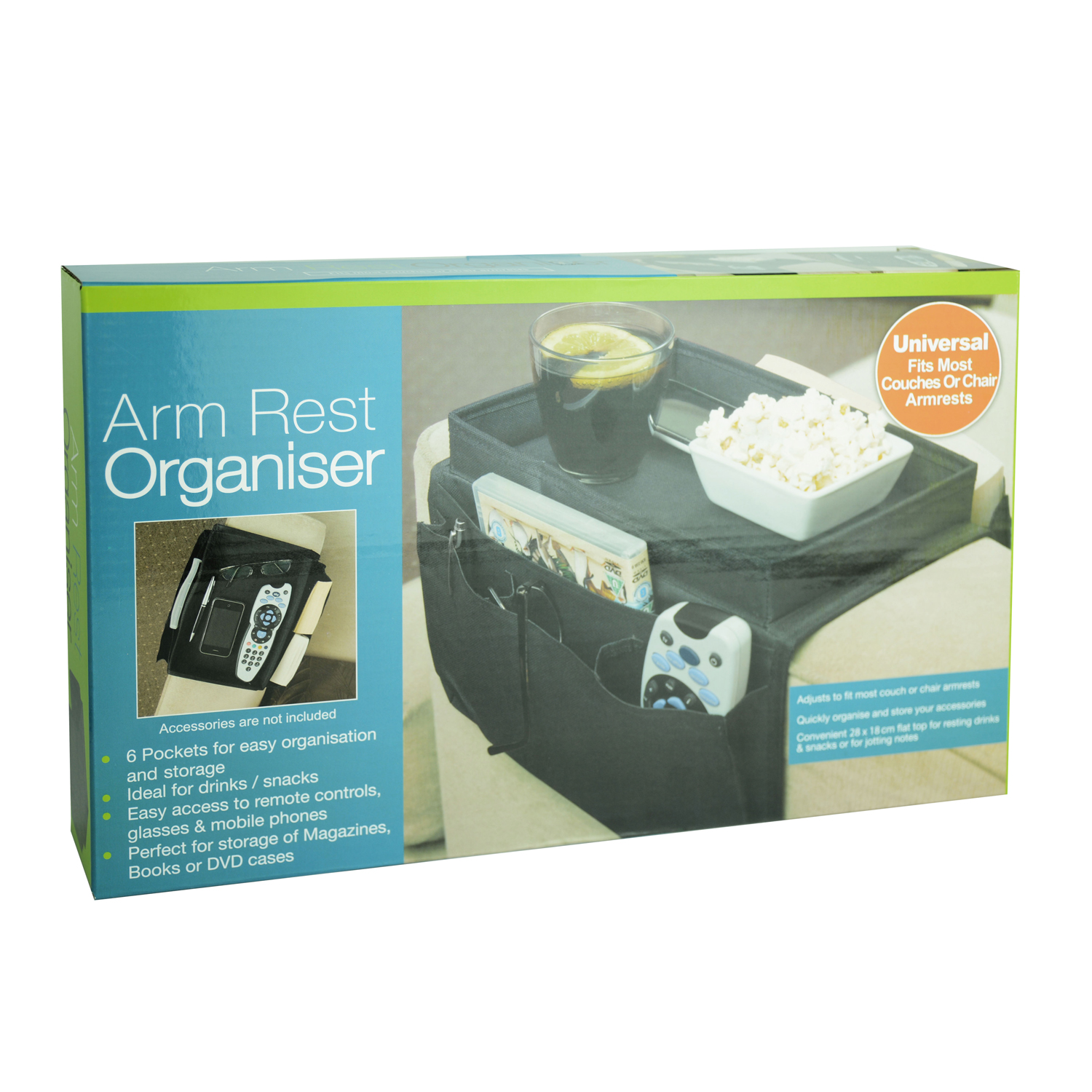 Arm Rest Organiser