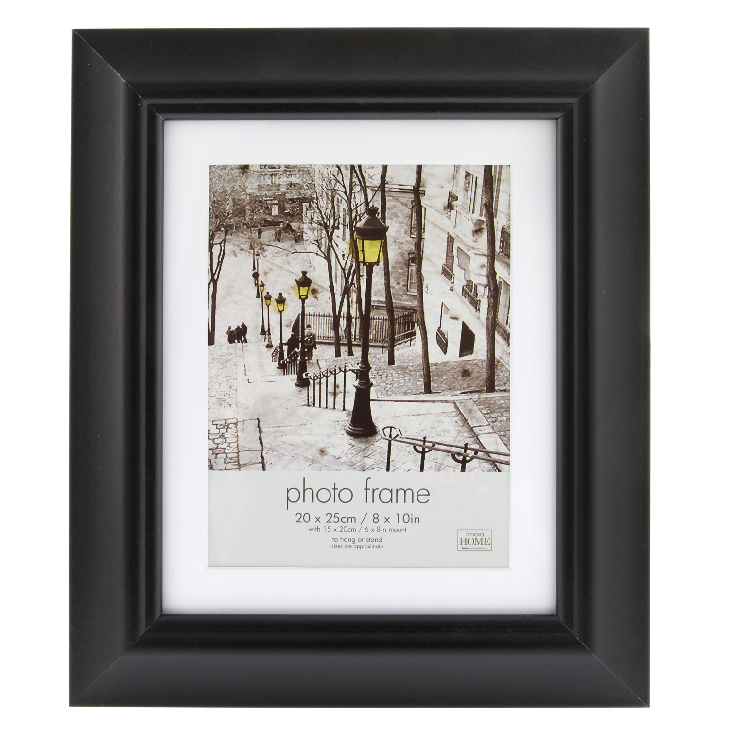 Simply Black Photo Frame 6 X 8 Home Store More
